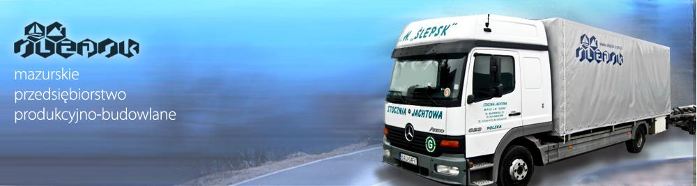 Uslugi transportowe Slepsk Augustow